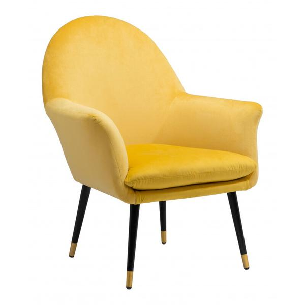 See Details - Alexandria Accent Chair Yellow