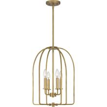 View Product - Cornell Pendant in Weathered Brass