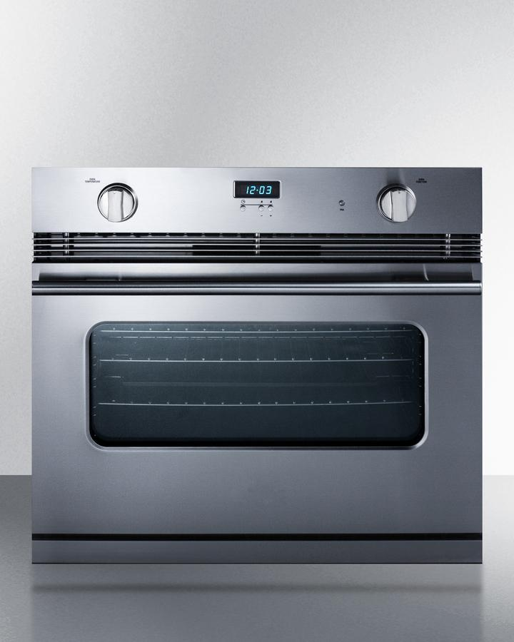 """Summit30"""" Wide Gas Wall Oven"""