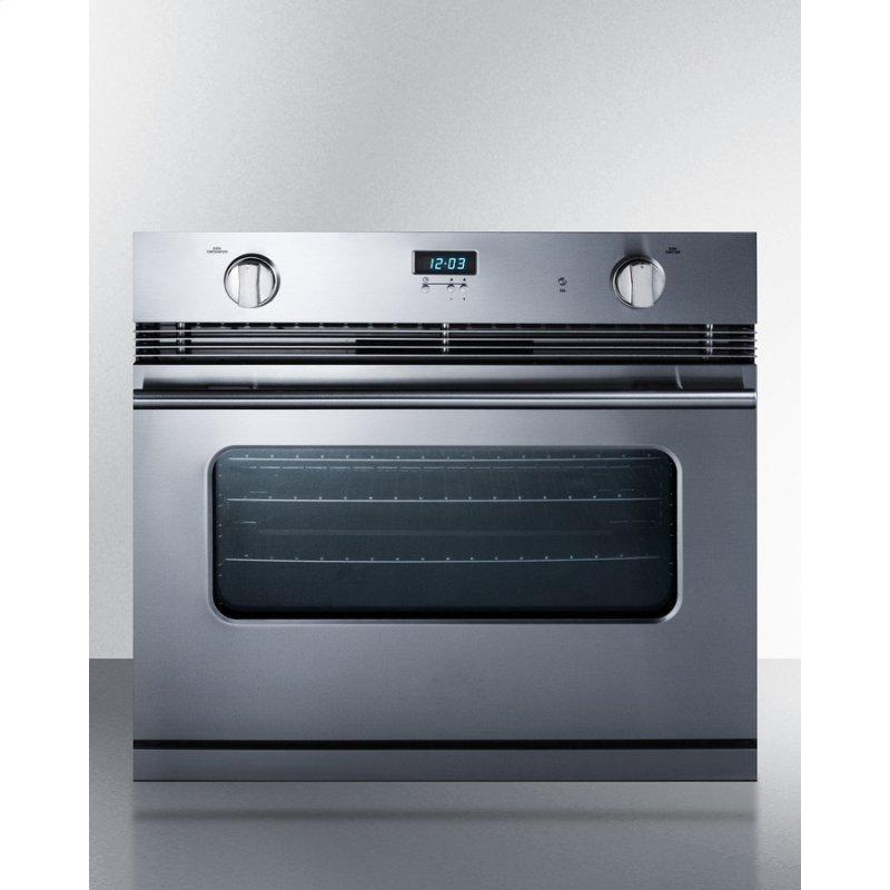 """30"""" Wide Gas Wall Oven"""