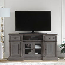 60 Inch Console - Cloud Gray Finish