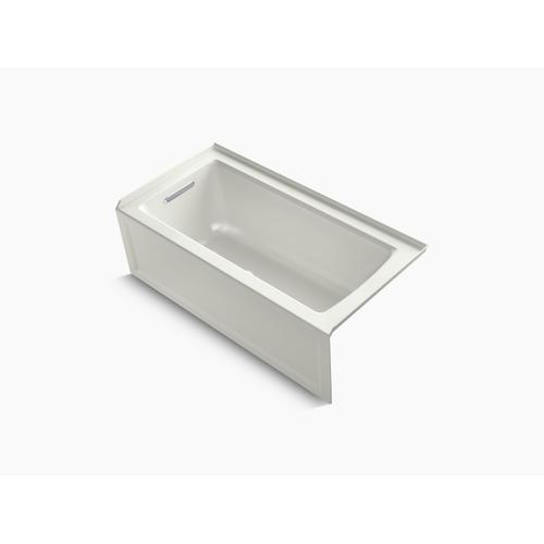 "Dune 60"" X 30"" Alcove Bath With Integral Apron, Integral Flange and Left-hand Drain"