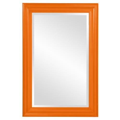 Howard Elliott - George Mirror - Glossy Orange