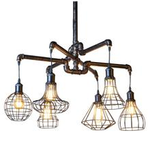 Luminaire Antique Vintage Pipe Ceiling Light