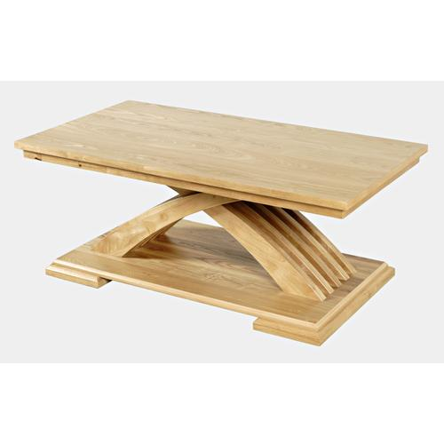 Jofran - Anthology Castered Coffee Table - Warm Ash