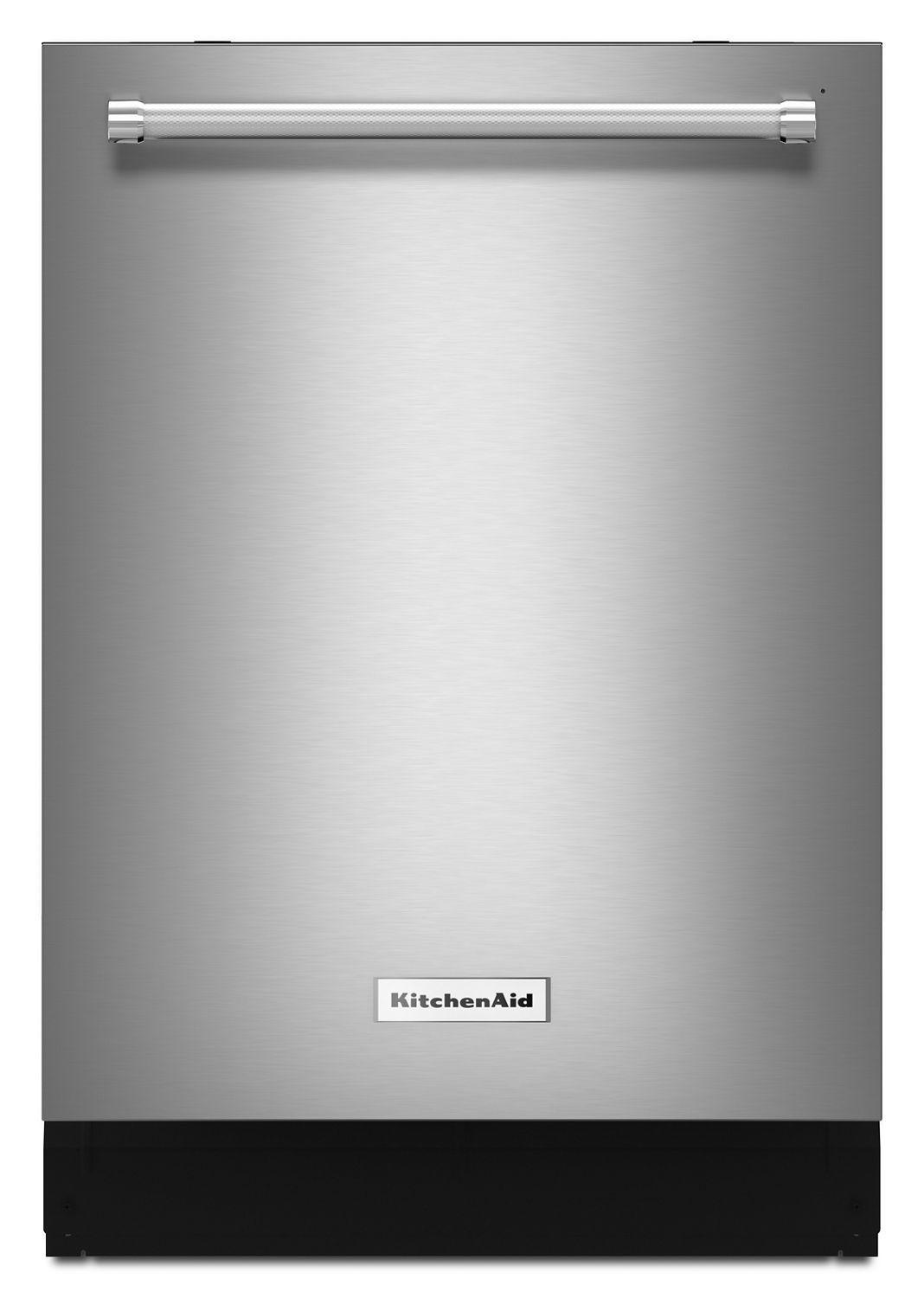 Kitchenaid44 Dba Dishwasher With Dynamic Wash Arms And Bottle Wash Stainless Steel