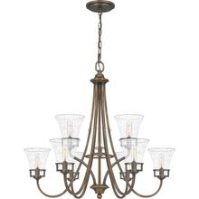 View Product - Fairchild Chandelier in Statuary Bronze
