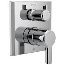See Details - Chrome 2-Handle Monitor ® 14 Series Valve Trim with 3-Setting Diverter