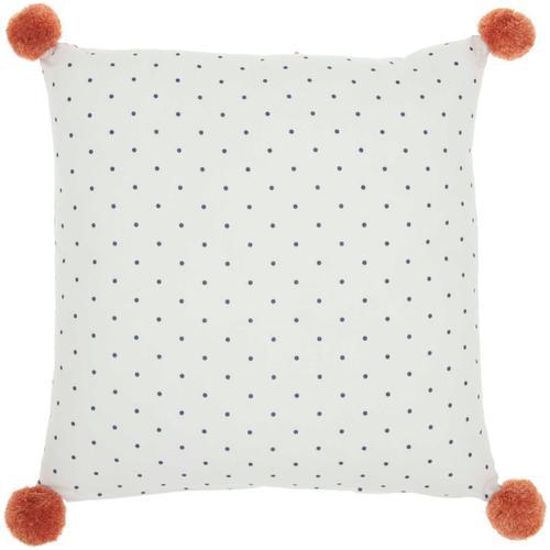 "Plush Cr905 Multicolor 16"" X 16"" Throw Pillow"