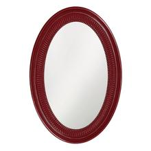 See Details - Ethan Mirror - Glossy Burgundy