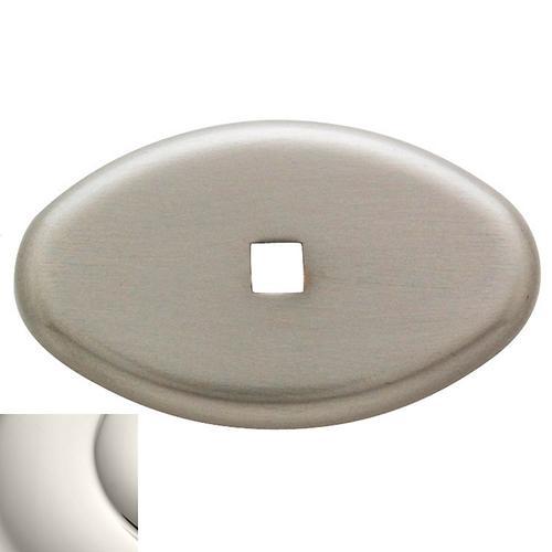 Baldwin - Polished Nickel Knob Back Plate