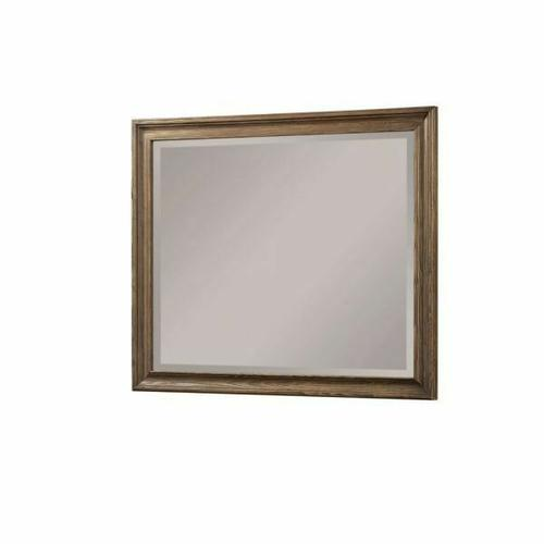 ACME Inverness Mirror - 26094 - Reclaimed Oak