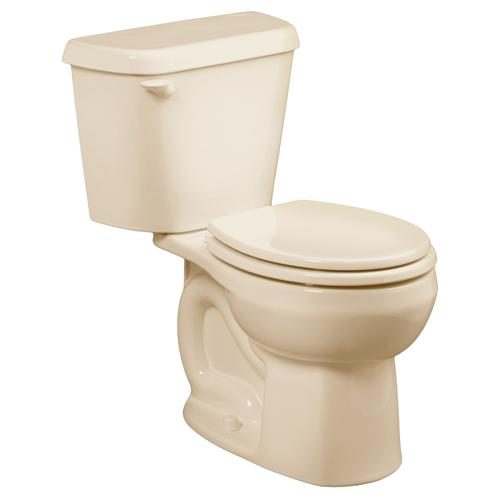 Colony Round Front Toilet - 10 Inch Rough-in - 1.28 gpf - Bone