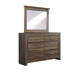 Juararo Bedroom Mirror Dark Brown