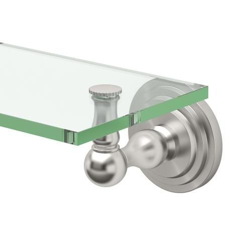 Marina Glass Shelf in Chrome