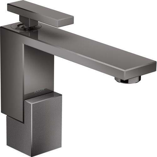 AXOR - Polished Black Chrome Single-Hole Faucet 130 - Diamond Cut, 1.2 GPM