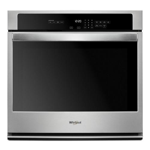Whirlpool - 4.3 cu. ft. Single Wall Oven with the FIT system