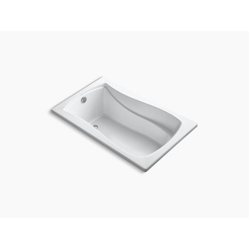 "Dune 60"" X 36"" Drop-in Bath With Bask Heated Surface and Reversible Drain"