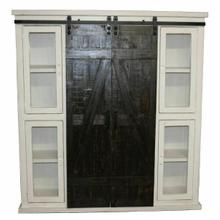 See Details - 10315w Barn Door Bookcase/pantry