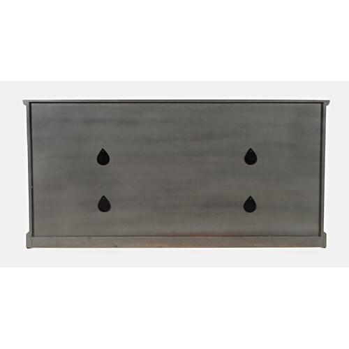 "Decker 70"" Console-antique Grey"