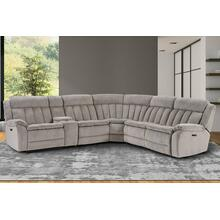 6 Piece Power Sectional with Power Headrest
