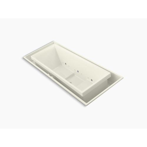 """Biscuit 104"""" X 41"""" Drop-in Effervescence Bath With Chromatherapy and Center Drain"""
