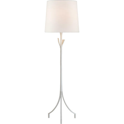 AERIN Fliana 59 inch 100 watt Plaster White Floor Lamp Portable Light