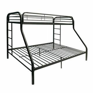 ACME Tritan Twin XL/Queen Bunk Bed - 02052BK - Black