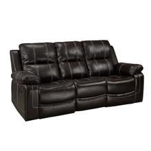 See Details - Recliner Sofa - Chocolate