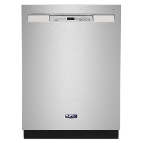 Maytag® Stainless steel tub dishwasher with Dual Power filtration