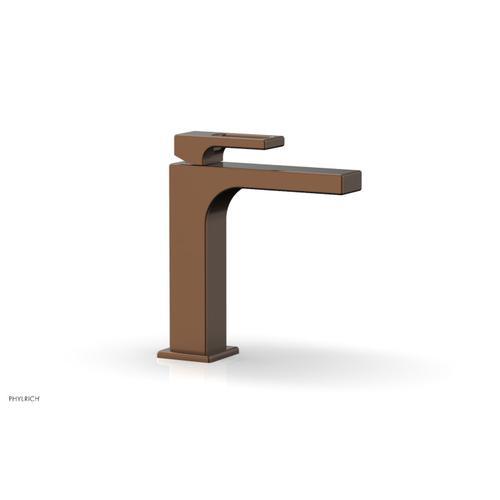 MIX Single Hole Lavatory Faucet, Ring Handle 290-07 - Antique Copper
