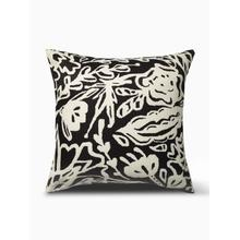"""See Details - Glamis Double Sided Indoor Outdoor Decorative Pillow - Black (20"""" x 20"""")"""
