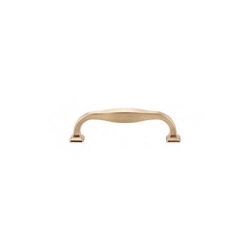 Contour Pull 3 3/4 Inch (c-c) - Honey Bronze