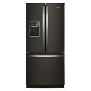 Whirlpool - 30-inch Wide French Door Refrigerator - 20 cu. ft.