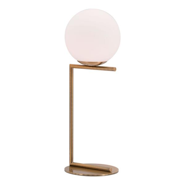 See Details - Belair Table Lamp Brass