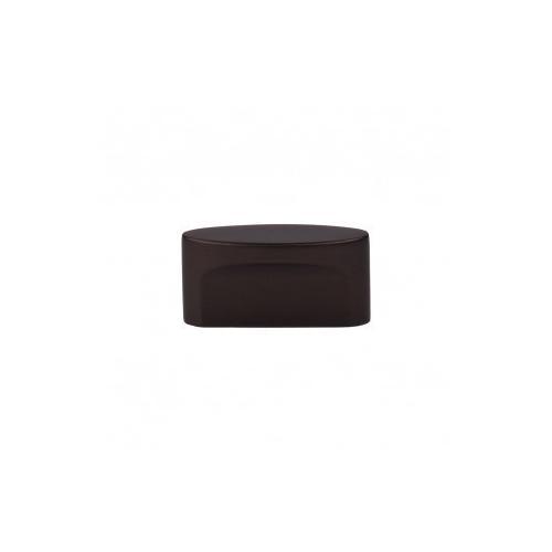 Oval Slot Knob 1 1/2 Inch (c-c) - Oil Rubbed Bronze