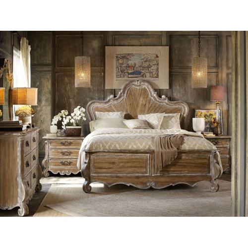 Bedroom Chatelet King Wood Panel Headboard