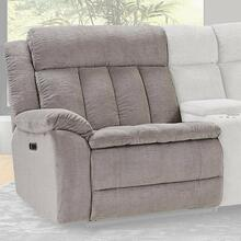 CUDDLER - LAUREL DOVE Power Left Arm Facing Recliner