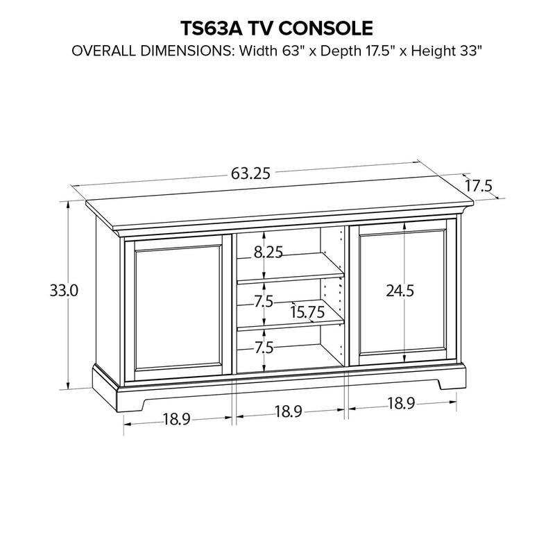 TS63A Custom TV Console