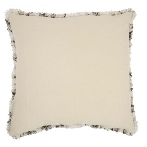 """Life Styles Dl903 Charcoal 24"""" X 24"""" Throw Pillow"""