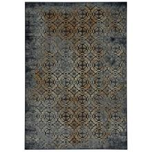 "Metropolis-Del Mar Navy - Rectangle - 3'11"" x 5'6"""