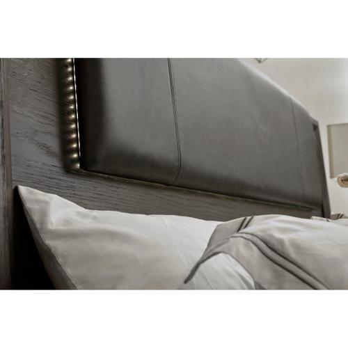 Java Queen Headboard in Gray