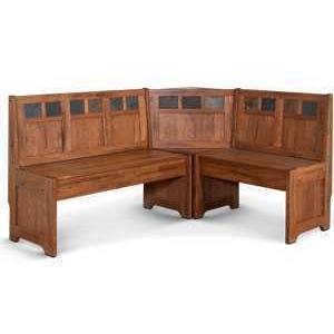 Sedona Bench/ Short & Corner/ Seat, Wood Seat