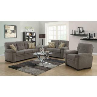 Fairbairn Casual Oatmeal Loveseat