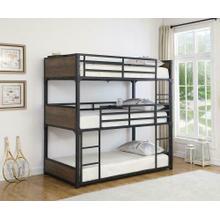 T / T / T Triple Bunk Bed