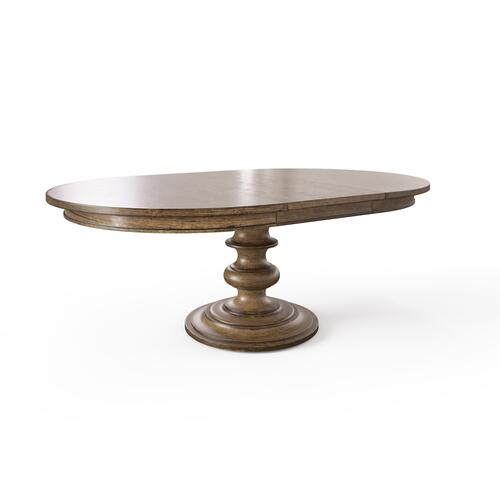 "Hillside 60"" Round Dining Table - Chestnut"