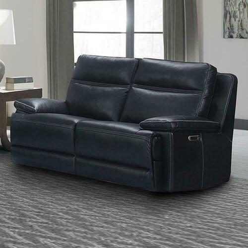 PAXTON - NAVY Power Loveseat