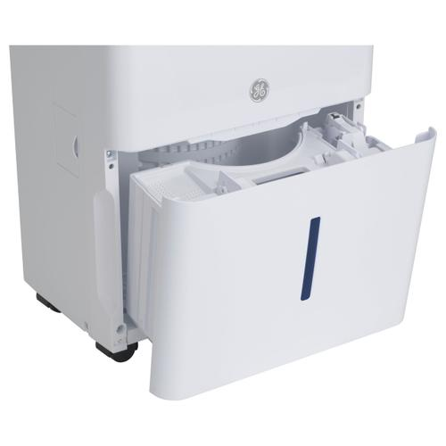 Haier - Haier® ENERGY STAR® 50 Pint Dehumidifier for Home or Basement with Built-in Pump, Large, White