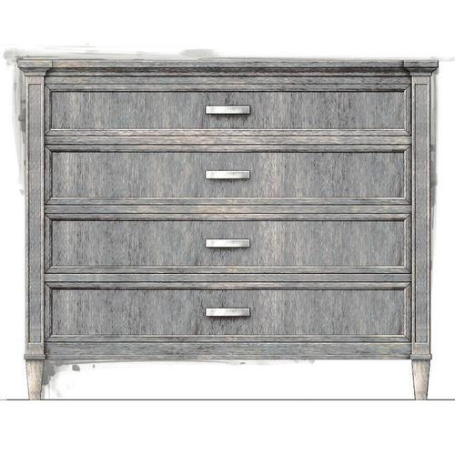 Willow Single Dresser - Pewter