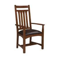 Oak Park Narrow Slat Arm Chair Product Image